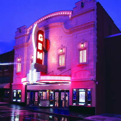 The Gem Theater located in Kansas City MO