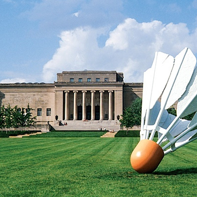 The Nelson-Atkins Museum of Art located in Kansas City MO