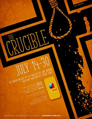 "Arthur Miller's ""The Crucible"""