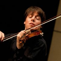 Joshua Bell and Alessio Bax, violinist and pianist...