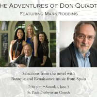 The Adventures of Don Quixote, Featuring Mark Robbins