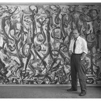 Film | Jackson Pollock's Mural