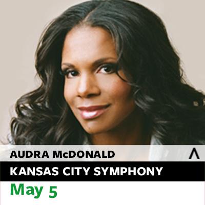 Audra McDonald with the Kansas City Symphony