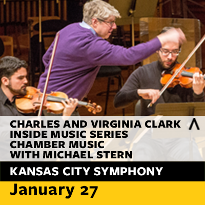 Charles and Virginia Clark Inside Music Series: Chamber Music with Michael Stern