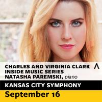 Charles and Virginia Clark Inside Music Series: Natasha Paremski, Piano