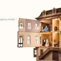 Coleman Dollhouse Opening