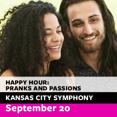 Free Symphony Happy Hour Concert: Pranks and Passions