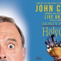 John Cleese Live Plus Screening of 'Monty Python and the Holy Grail'
