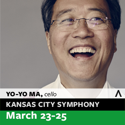 Kansas City Symphony Classical Concert: Yo-Yo Ma, Pines of Rome and Bernstein