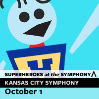 Kansas City Symphony Family Series begins: Superheroes at the Symphony