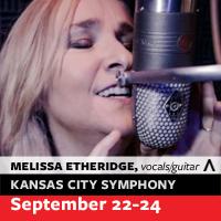 Melissa Etheridge with the Kansas City Symphony