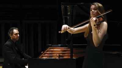 Lara St. John, violin, and Matt Herskowitz, piano