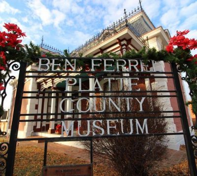 Christmas Tours at the Ben Ferrel Museum (an 1882 Mini Mansion) presented by Ben Ferrel Platte County Museum at Ben Ferrel Platte County Museum, Platte City MO