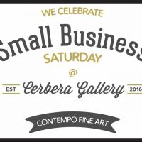 Cerbera Gallery's Black Friday & Small Business Saturday Sale