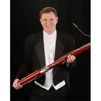 Jeffery Womack, bassoon, Guest Artist Recital