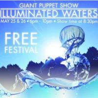 Illuminated Waters presented by StoneLion Puppet Theatre at ,