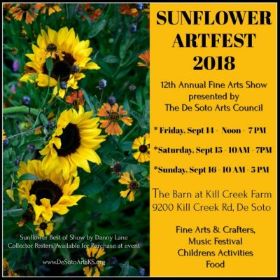 2018 De Soto Sunflower Art and Music Fest