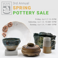 3rd Annual KCCG Spring Pottery Sale