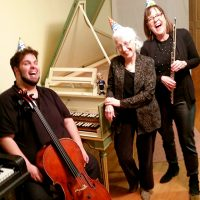 Celebrate Bach's 333rd Birthday with Flute, Cello and Harpsichord Works