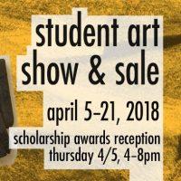 2018 MCC-Penn Valley Student Art Show & SALE