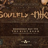 Soulfly & Nile presented by The Riot Room at The Riot Room, Kansas City MO