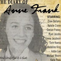 The Diary of Anne Frank presented by The Culture House at The Culture House Stage and Studio at Oak Park Mall, Overland Park KS