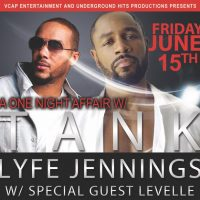 Tank & Lyfe Jennings presented by Arvest Bank Theatre at the Midland at Arvest Bank Theatre at the Midland, Kansas City MO