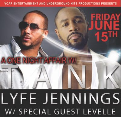 Tank & Lyfe Jennings presented by Arvest Bank Theatre at the Midland