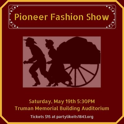 Pioneer Fashion Show presented by Jackson County Historical Society at ,