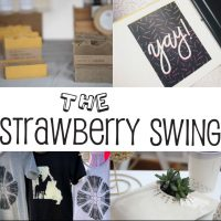 The Strawberry Swing Indie Craft Fair's Spring Swing!