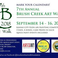 Brush Creek Art Walk 2018 Closing Reception presented by Brush Creek Artwalk Foundation at ,