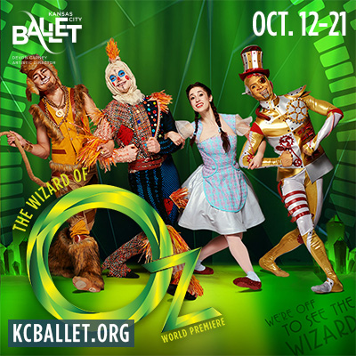 "Kansas City Ballet Presents ""The Wizard of Oz""..."
