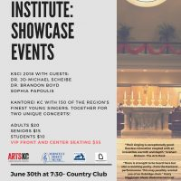Kantorei Summer Choral Institute Showcase #2