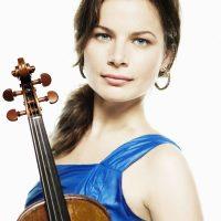 Bella Hristova, violinist in free collaborative concert