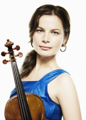 Bella Hristova, violinist in free collaborative co...