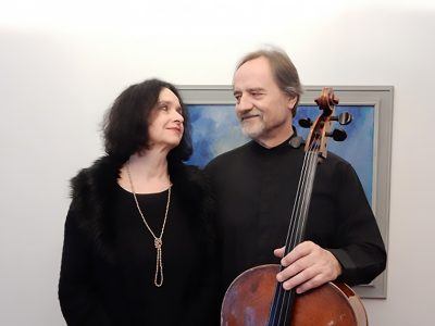 Park ICM Masters in Concert Presents Daniel Veis, Cello, and Helena Veisova, Piano presented by Park University - International Center for Music at 1900 Building, Mission Woods KS