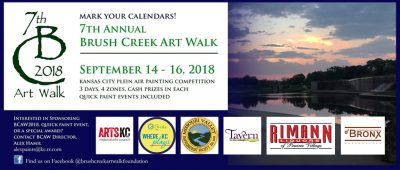 Brush Creek Art Walk 2018 presented by Brush Creek Artwalk Foundation at ,
