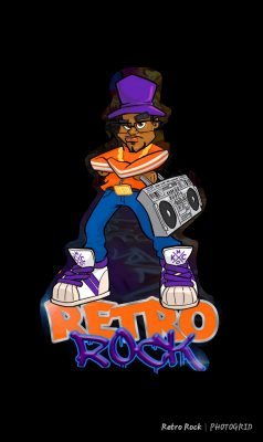 Retro Rock Hip Hop Culture Jam