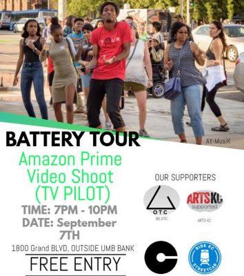 Battery Tour Amazon Prime Shoot Tv Pilot Shot In Kc Battery Tour At Country Club Plaza Mill Creek Park Kansas City Mo Free