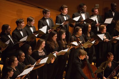 Conservatory Choirs: A Season for Giving