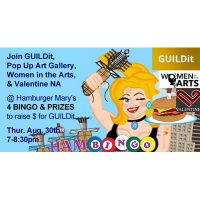 Bingo & Prizes at Hamburger Mary's for GUILDit