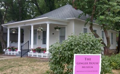 The Owens-Rogers House: Birthplace of Ginger Rogers located in Independence MO