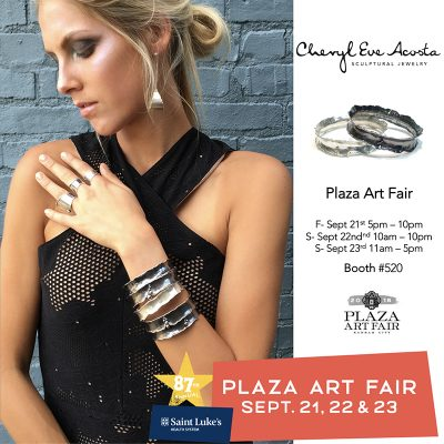 Plaza Art Fair - Cheryl Eve Acosta Jewelry
