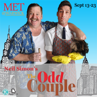 The Odd Couple By Neil Simon presented by Metropolitan Ensemble Theatre at ,
