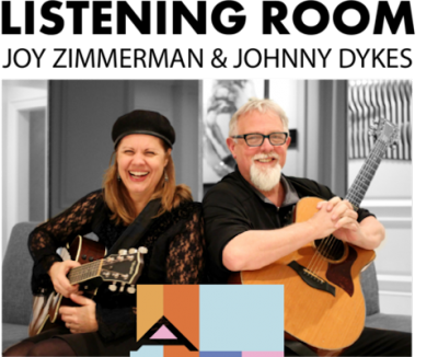 ArtHouse Listening Room with Joy Zimmerman and Jim...