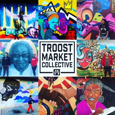 Troost Market Collective's Community Mural Project...