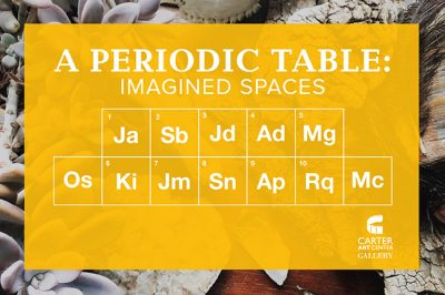 A Periodic Table: Imagined Spaces