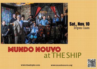 Orquesta de Salsa Mundo Nouvo at The Ship