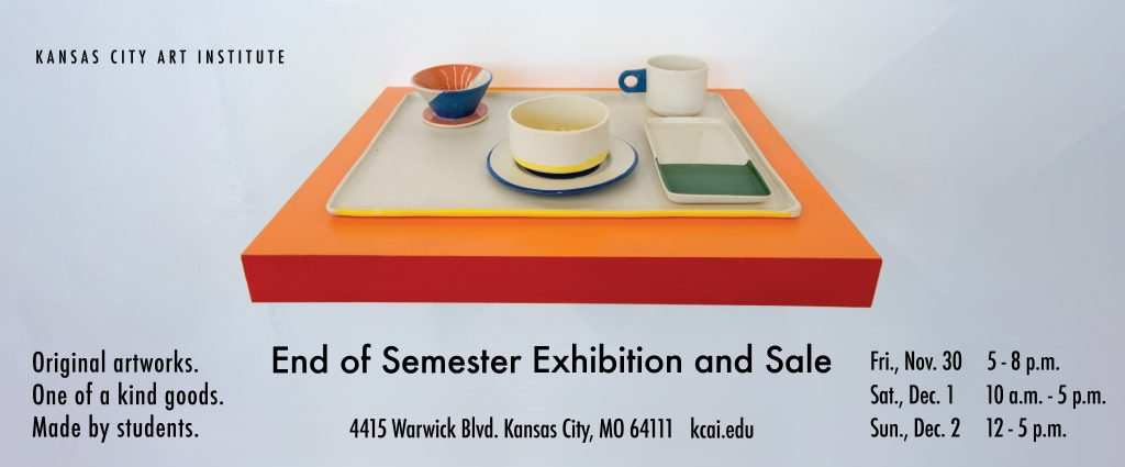 KCAI End Of Semester Exhibition and Sale November ...