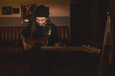 Tash Sultana with Ocean Alley at Arvest Theatre at...